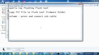 getlinkyoutube.com-xperia ray st18i flashing flash tool