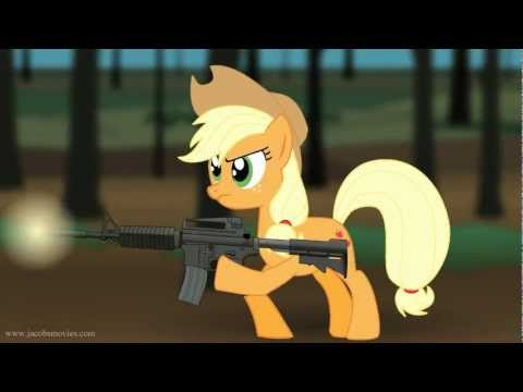 Band of Brothers Re-enacted by Ponies in 15 Seconds