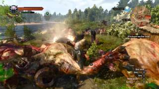 getlinkyoutube.com-The Witcher 3 easy way to level up quick