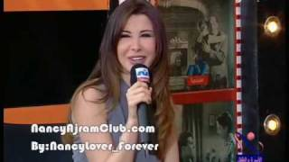 getlinkyoutube.com-Nancy Ajram Children Film Festival Interview Nile Cinema