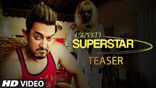 Secret Superstar | Teaser | Zaira Wasim | Aamir Khan | 4th August 2017