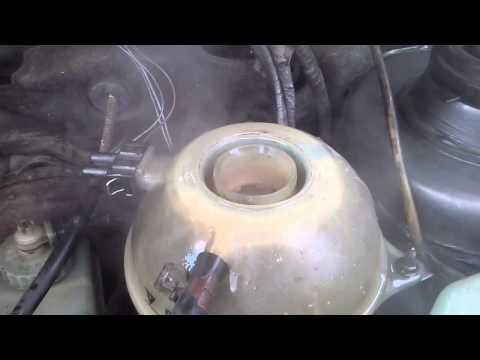 Газы и закипание антифриза. Двигатель 1.9 TD AAZ | Gases and boiling antifreeze. Engine 1.9 TD AAZ