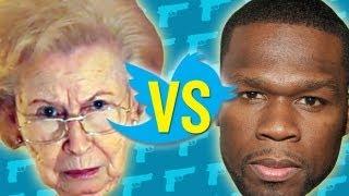 Les tweets de 50 Cent lu par une grand mère