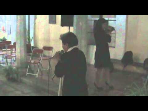 Rocio Morales y grupo Ca-velaxhi