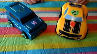 getlinkyoutube.com-TRANSFORMERS: RESCUE BOTS BOTH RED AND YELLOW VERSIONS