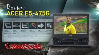 getlinkyoutube.com-Acer Aspire E14 E5 475G Full Review - Performa, Temperatur & Konsumsi Daya