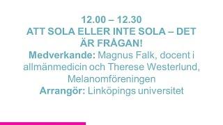 Forskartorget 2015 - ATT SOLA ELLER INTE SOLA – DET ÄR FRÅGAN!