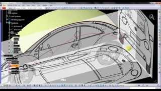getlinkyoutube.com-Video Tutorial on Modeling VW Beetle in CATIA v5 Part 01