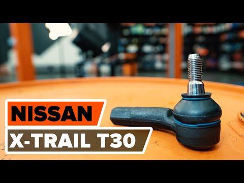 Как да сменим кормилен накрайник на напречната кормилна щанга на (NISSAN X-TRAIL T 30)