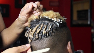 getlinkyoutube.com-Natural Hair Twist For Men