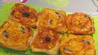 getlinkyoutube.com-🍅 مسمن بمذاق البيتزا لذيذ و سريع التحضير| شهيوات سهلة| msemen au goût pizza facile 🍴