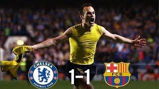 Chelsea vs Barcelona (1-1) Champions League