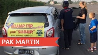 getlinkyoutube.com-Bu Julie Belajar Stir Mobil | Vlog 174