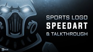 Cyborg Sports Logo | Gaming Logo | SpeedArt