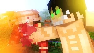 getlinkyoutube.com-Attack on Titan Life - Minecraft Animation