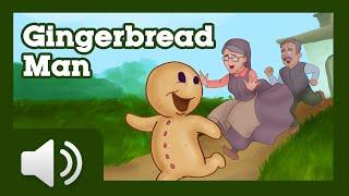 getlinkyoutube.com-The Gingerbread Man - Children Story
