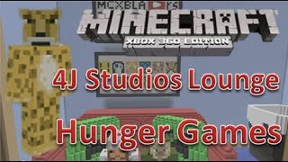 getlinkyoutube.com-Minecraft xbox 360 Hunger Games   4J Studios Lounge   Map Download   Survival Games