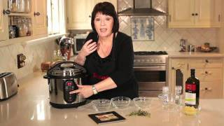 getlinkyoutube.com-Tefal Minut' Cook Electric Pressure Cooker  - Demo