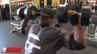 "getlinkyoutube.com-L-Train"" Brown Slams Shoulders Four Days Out from Flex Pro"