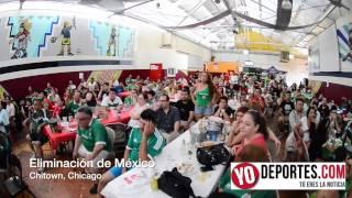 Así se vivió la eliminación de México en Chicago