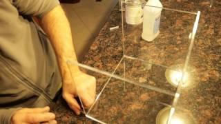 Gluing Plexiglass with Acrylics Glue width=