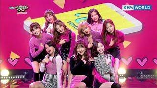 TWICE (트와이스) - LIKEY [Music Bank HOT Stage / 2017.11.17]