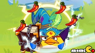 getlinkyoutube.com-Angry Birds Epic - New Cave Stormy Sea 2 Red's Stone Guard! iOS/Android