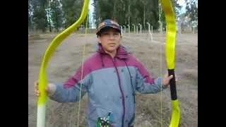 getlinkyoutube.com--Arcos Caseros con Caños de PVC Para NIÑOS-(RECICLAJE) -