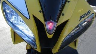getlinkyoutube.com-Yellow Yamaha R6 Special Edition w/ Yoshimura Full Exhaust - Walk Around & Start-Up