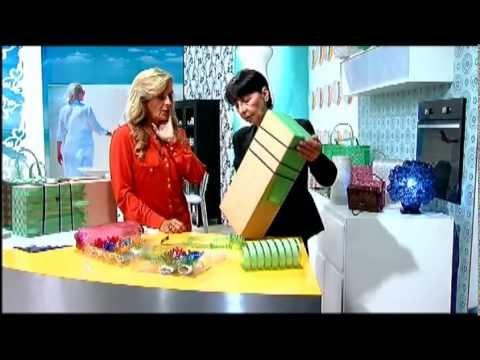 Reciclagem: artesanato de garrafas PET