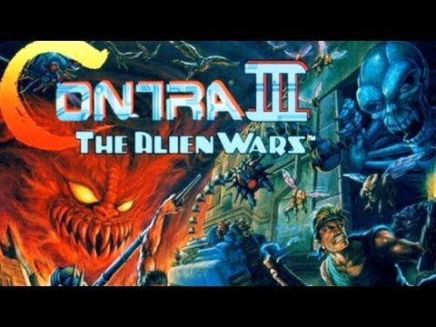 CGRundertow CONTRA III: THE ALIEN WARS for Super Nintendo Video Game Review