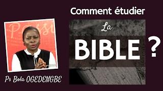 getlinkyoutube.com-Comment étudier la Bible? Pasteur Bola Ogedengbe
