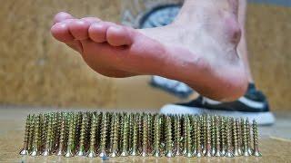 getlinkyoutube.com-FOOT VS NAILS! *HORRIBLE ENDING*