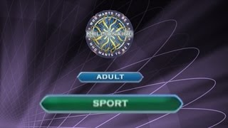 Who Wants To Be A Millionaire? DVD 4th Edition - Adult - Sport