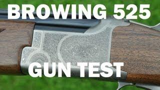 getlinkyoutube.com-Browning 525 Gun Test by Mike Yardley