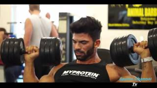 getlinkyoutube.com-Sergi Constance - Shoulder Workout Motivation