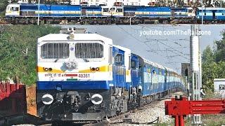 getlinkyoutube.com-9000 HP Twin DUAL Cab (High Horse Power) EMD : Indian Railways