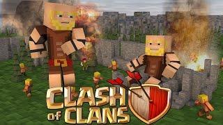 getlinkyoutube.com-ماين كرافت/ مود كلاش اوف كلانس/ Clash of mobs mod for minecraft