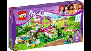 getlinkyoutube.com-Review - Lego Friends Desfile de Cachorros