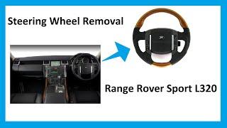 getlinkyoutube.com-How to change  steering wheel Range Rover Sport  (guidance o
