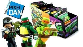 getlinkyoutube.com-Nickelodeon Teenage Mutant Ninja Turtles MiniMates SERIES 2 Blind Bag Figure Opening & Video Review