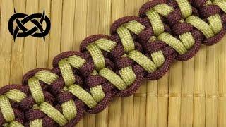 getlinkyoutube.com-How to make a Rugged Sanctified Paracord Buckle Bracelet