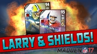 getlinkyoutube.com-Playoff Legends Larry Fitzgerald & Sam Shields! | Madden 17 Ultimate Team - Pack Opening