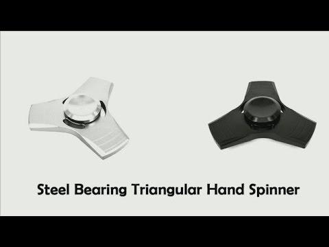 $4.95! Steel bearing hand spinner finger fidget Toy フィンガースピナーフィジェット