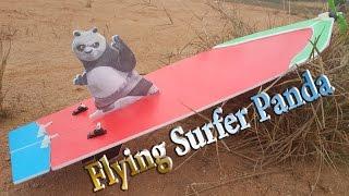getlinkyoutube.com-How to make Flying Surfer Panda