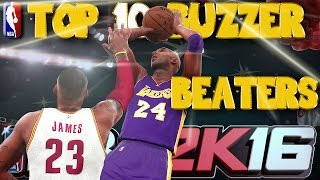 getlinkyoutube.com-NBA 2K16 1st OFFICIAL TOP 10 BUZZER BEATERS Of The Week!