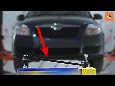 ... pakeisti priekine stabilizatoriaus trauke SKODA ROOMSTER 1 | Autodoc