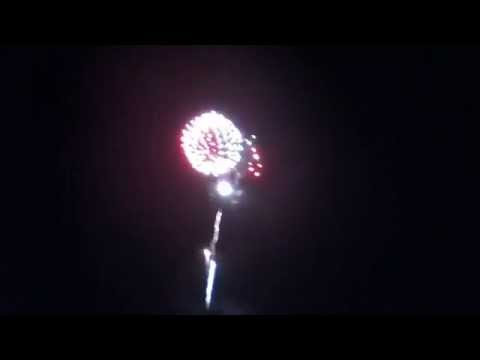 4th Of July Fireworks In Greenwood Lake NY Part 1