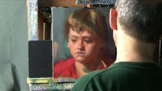 getlinkyoutube.com-Oil Painting Portrait Demonstration by David Shevlino