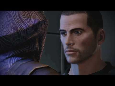 Mass Effect 2 Tali Romance Scene